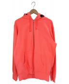 Supreme(シュプリーム)の古着「スプレーグラフィックジップパーカー」|ピンク