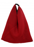 MM6 Maison Margiela(エムエムシックス メゾンマルジェラ)の古着「ジャパニーズメッシュトートバッグ」|レッド
