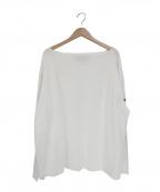 OUTIL(ウティ)の古着「バスクシャツ」 ホワイト