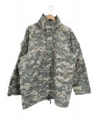 US ARMY(ユーエスアーミー)の古着「00sデジカモゴアテックスコールドウェザーパーカー」 グレー