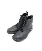 Traditional Weatherwear(トラディショナルウェザーウェア)の古着「ウィングチップレインブーツ」|ブラック