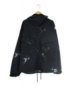 nanamica(ナナミカ)の古着「アルファドライフーデッドパーカ(ジャケット)」|ブラック