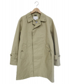 nanamica(ナナミカ)の古着「ゴアテックスステンカラーコート」|ベージュ