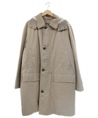 BURBERRY LONDON(バーバリーロンドン)の古着「ノバチェックダウンライナー付コート」|ブラウン