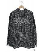 TENDERLOIN(テンダーロイン)の古着「ロゴデザインドットパーカー」|ブラック