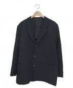 COMME des GARCONS HOMME()の古着「90s3Bウールギャバジンテーラードジャケット」|ネイビー