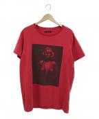 GOD SELECTION XXX(ゴットセレクショントリプルエックス)の古着「プリントTシャツ」|レッド
