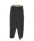 FWk Engineered Garments(エフダブリューケーエンジニアードガーメンツ)の古着「トロピカルウールバルーンパンツ」|グレー