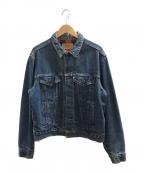 LEVI'S()の古着「[古着]80's裏ネルデニムジャケット」|インディゴ