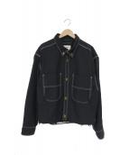 doublet(ダブレット)の古着「ヘビーウェイトカットオフジャケット」|ブラック