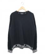 OPENING CEREMONY(オープニングセレモニー)の古着「ロゴクルーネックスウェット」|ブラック