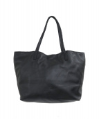 ()の古着「アナグラムロゴナッパレザートートバッグ」 ブラック