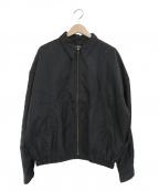 MONITALY(モニタリー)の古着「ウエスタンナイロンジャケット」|ブラック