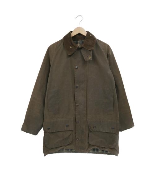 Barbour(バーブァー)Barbour (バブアー) 【古着】80'sオイルドジャケット オリーブ サイズ:38 MOORLAND 88年製の古着・服飾アイテム