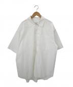 lownn(ローン)の古着「オーバーサイズ半袖シャツ」|ホワイト