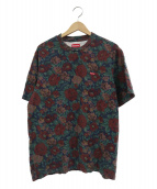 Supreme(シュプリーム)の古着「デジフローラルボックスロゴTシャツ」|ネイビー×グリーン