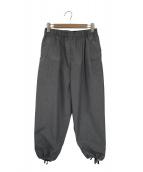 FWK Engineered Garments(エフダブリューケイ エンジニアードガーメンツ)の古着「コットンバルーンパンツ」|グレー