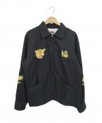 東洋エンタープライズ(トウヨウエンタープライズ)の古着「スーベニアジャケット」|ブラック