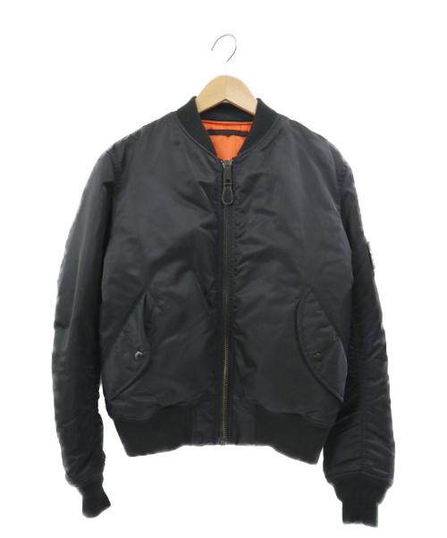 AVIREX(アヴィレックス)AVIREX (アヴィレックス) MA-1ジャケット ブラック サイズ:Mの古着・服飾アイテム