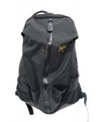 ()の古着「アロー16バックパック」|ブラック