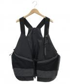 Comfy Outdoor Garment(コンフィーアウトドアガーメンツ)の古着「デュアルパーパスベスト」|ブラック
