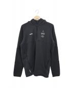 F.C.R.B.(エフシーアールビー)の古着「ハーフジップパーカー」|ブラック