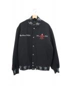 ()の古着「コラボアワードジャケット(スタジャン)」|ブラック