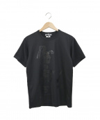 BLACK COMME des GARCONS×NIKE(ブラックコムデギャルソン×ナイキ)の古着「コラボプリントTシャツ」|ブラック