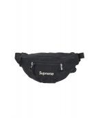 Supreme(シュプリーム)の古着「ボックスロゴウエストバッグ」 ブラック