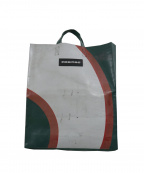 FREITAG(フライターグ)の古着「トートバッグ」|ホワイト×グリーン