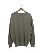 ()の古着「パックフィールドセーター」 ベージュ