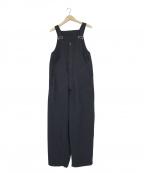ordinary fits(オーディナリーフィッツ)の古着「ウールオーバーオール」|ネイビー