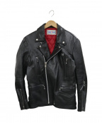 ROTAR(ローター)の古着「カウレザーライダースジャケット」|ブラック