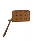 ()の古着「ラウンドジップ財布」|ブラウン