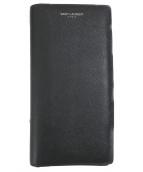 ()の古着「2つ折り長財布」|ブラック