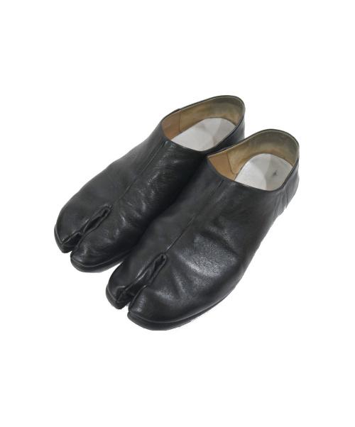 Maison Margiela 22(メゾンマルジェラ 22)Maison Margiela 22 (メゾンマルジェラ 22) タビフラットシューズ ブラック サイズ:40 S57WR0024 TABI FLAT SHOESの古着・服飾アイテム