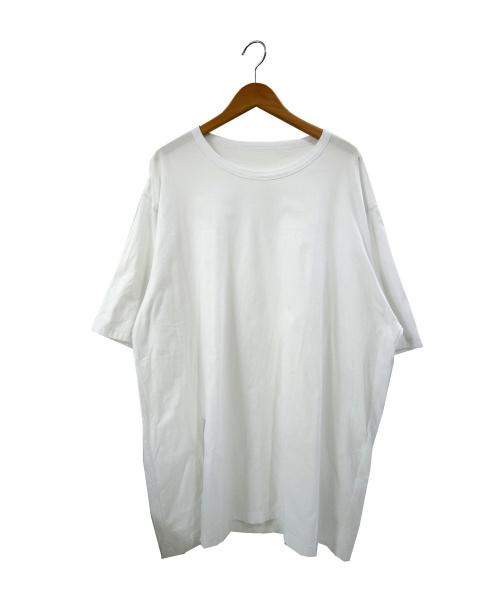 GROUND Y(グランドワイ)GROUND Y (グランドワイ) アシンメトリードレープカットソー ホワイト サイズ:03 GN-T10-046-3 20SSの古着・服飾アイテム