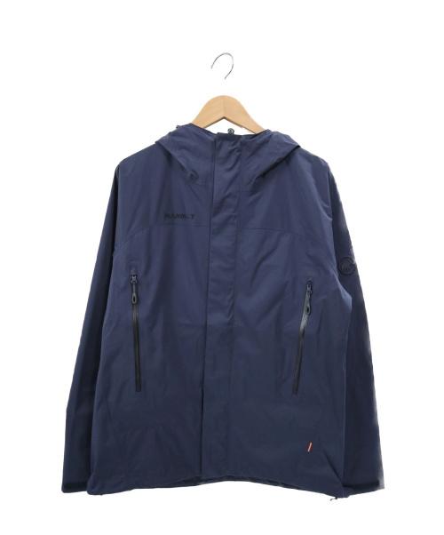 MAMMUT(マムート)MAMMUT (マムート) マイクロレイヤーエイチエスフーデットジャケット ネイビー サイズ:S 1010-28650の古着・服飾アイテム