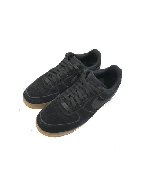 NIKE(ナイキ)NIKE (ナイキ) ローカットスニーカー ブラック サイズ:26.5 AA1117-001 AIR FORCE 1 07 LV8 SUEDEの古着・服飾アイテム