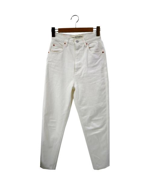 THE SHINZONE(ザ シンゾーン)THE SHINZONE (ザ シンゾーン) キャロットデニムパンツ ホワイト サイズ:32の古着・服飾アイテム