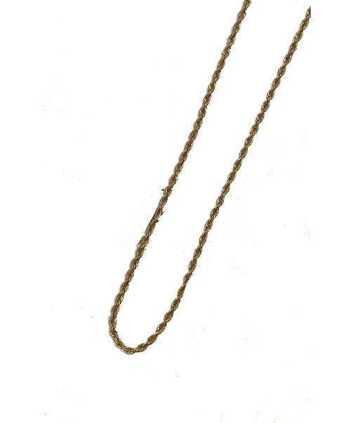 AVALANCHE(アヴァランチ)AVALANCHE (アヴァランチ) 10K イエローゴールドネックレス ゴールド サイズ:下記参照の古着・服飾アイテム