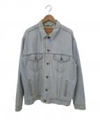 LEVI'S(リーバイス)の古着「【古着】90'sデニムトラッカージャケット」 ブルー