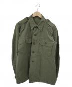 British Army(ブリティッシュアーミー)の古着「【古着】40's Jungle Shirts」|オリーブ