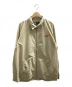 CHARI & CO NYC(チャリアンドコーニューヨーク)の古着「ジップアップジャケット」|ベージュ