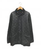 Barbour(バブアー)の古着「オイルドキルティングジャケット」|ブラック
