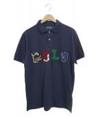 POLO RALPH LAUREN(ポロ・ラルフローレン)の古着「ロゴポロシャツ」|ネイビー