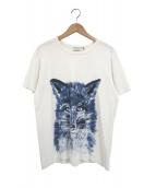 ()の古着「フォックスプリントTシャツ」|ホワイト