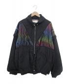 ()の古着「ナイロン2WAYジャケット」|ブラック