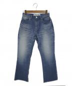 JANE SMITH(ジェーンスミス)の古着「ブーツカットデニムパンツ」|ブルー