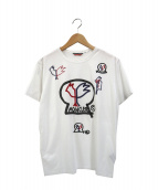 ()の古着「マグリアグラフィックプリントTシャツ」|ホワイト
